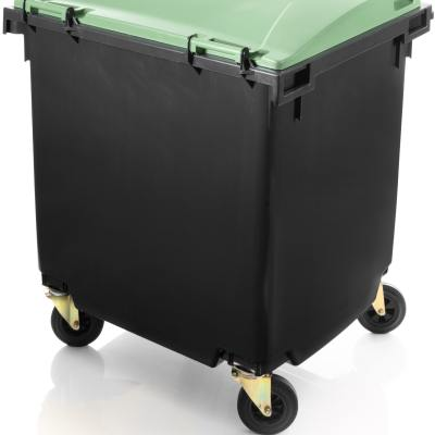 wheelie bins 1100 L FL rear