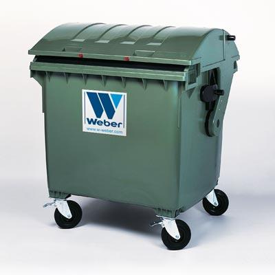 Wheelie Bins Mgb 1100 L Domed Lid From Weber