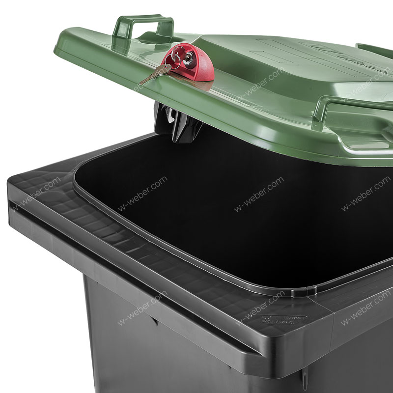 Wheelie Bins 360 Litre Locking Systems Images Pictures