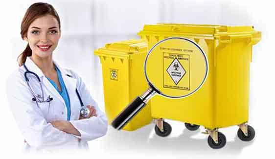 Weber Abfallbehälter für medizinischen Abfall