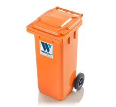 Mobile garbage bins 120 l