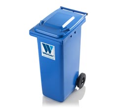 Mobile garbage bins 180 l