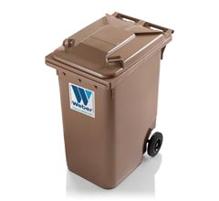 Mobile garbage bins 360 l
