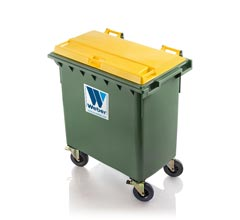 Mobile garbage bins 770 l