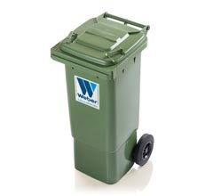 Mobile garbage bins 80 l