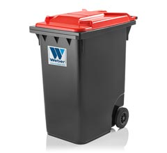 Mobile waste container 360 l