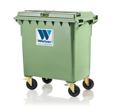 Mobile waste container 770 l