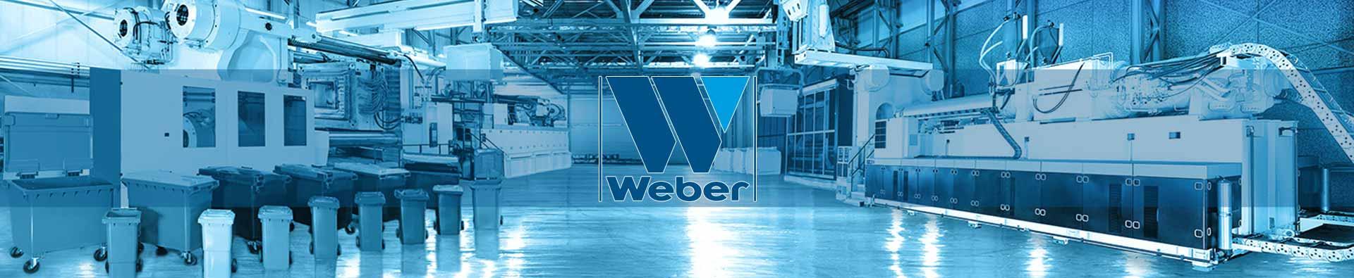 Blick in eine Produktionshalle der Weber GmbH
